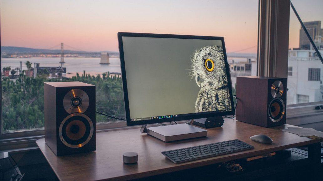 Prachtig scherp beeld op The Surface Studio