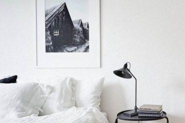 Minimalistische woonkamer